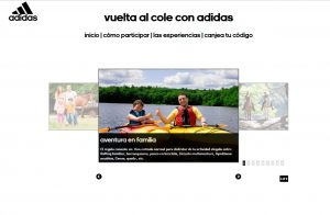 PROMOCIÓN ADIDAS marketing experiencial