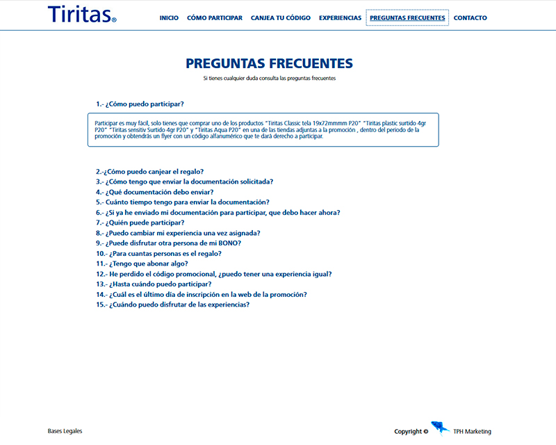 TPH Marketing, Barcelona y Madrid: campaña publicitaria